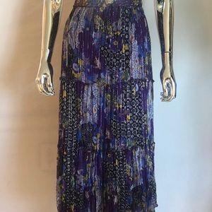 Peter Nygard Silk Skirt